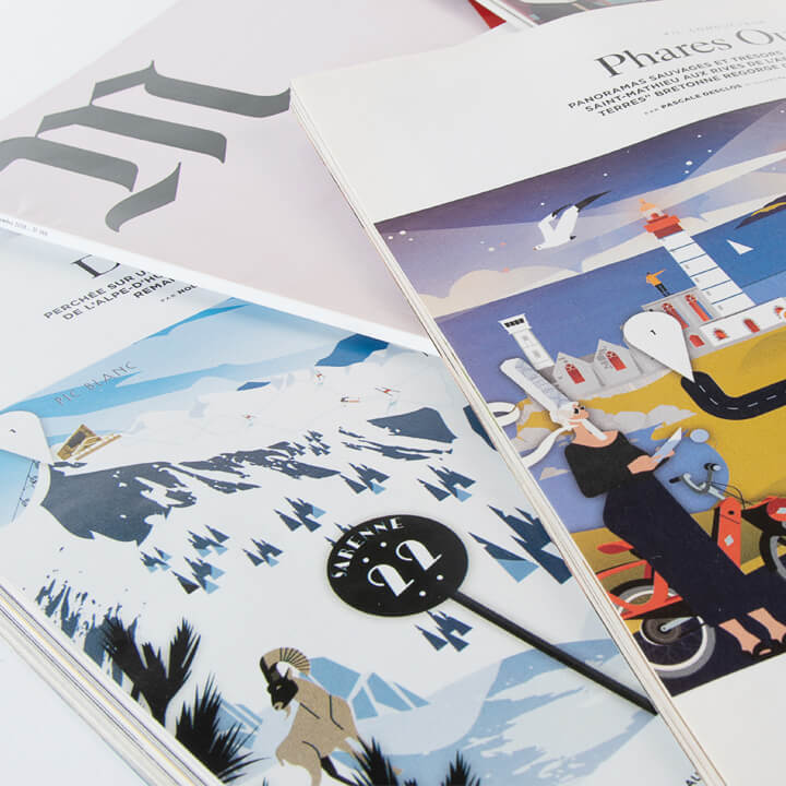 M' Le Monde | Illustrations de magazine